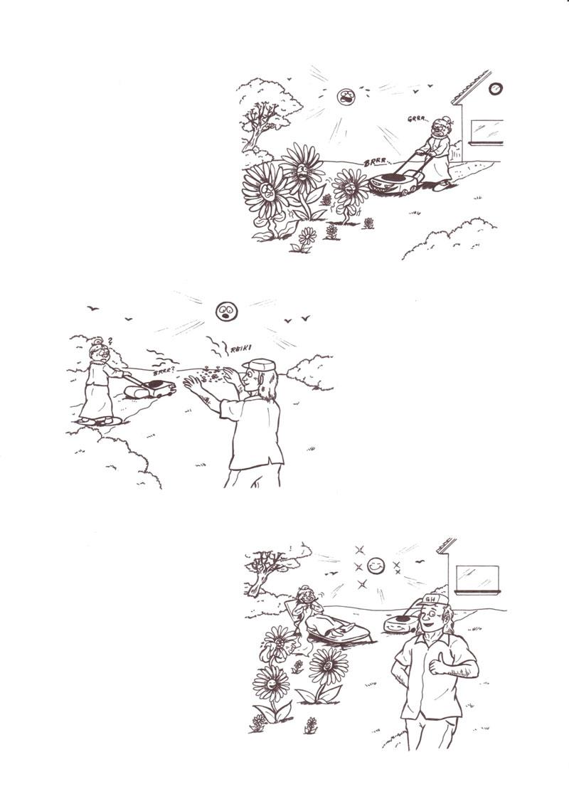 Eine Gänseblümchen-Geschichte